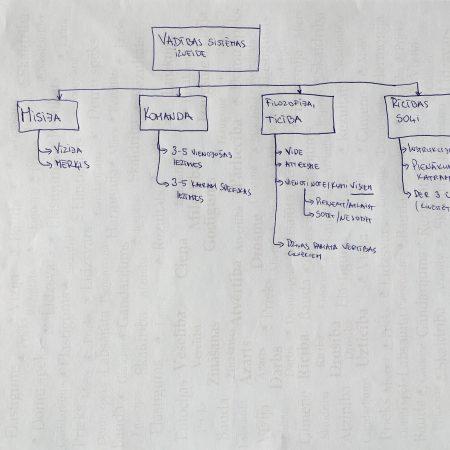 Ko mēs iegūstam, ja izveidojam vadības sistēmu?